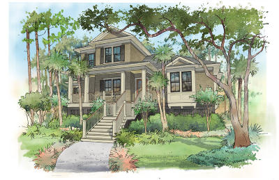 Seabrook Island Single Family Home For Sale: 3138 Baywood Drive