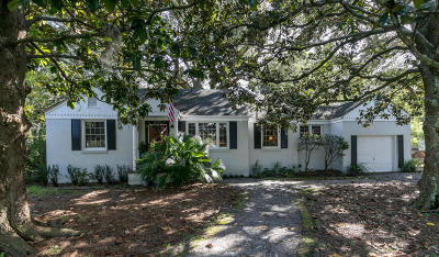 Mount Pleasant Single Family Home For Sale: 307 Palm Street