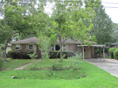 North Charleston Single Family Home For Sale: 7023 Terrace Drive