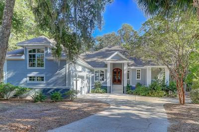 Seabrook Island Single Family Home For Sale: 2525 Seabrook Island Road