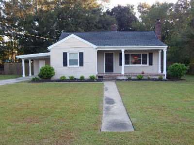 Charleston Single Family Home Contingent: 2343 Etiwan Avenue