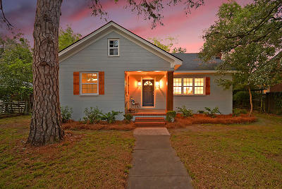Charleston Single Family Home For Sale: 721 Woodward Road