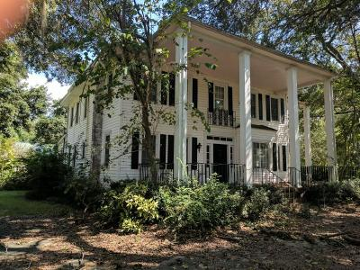 Single Family Home For Sale: 1834 Pinopolis Road