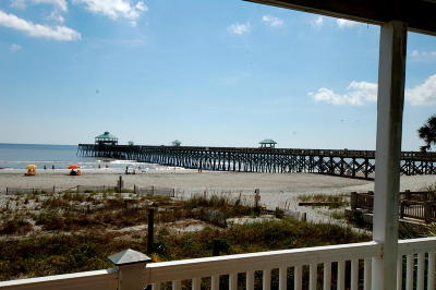 Folly Beach SC Attached For Sale: $650,000