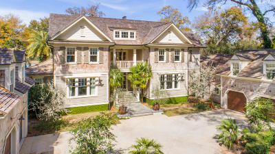 Charleston SC Single Family Home For Sale: $6,495,000