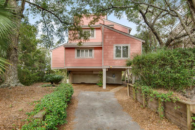 Isle Of Palms Single Family Home For Sale: 14 Marsh Island Lane