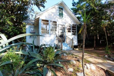 Folly Beach SC Single Family Home For Sale: $550,000