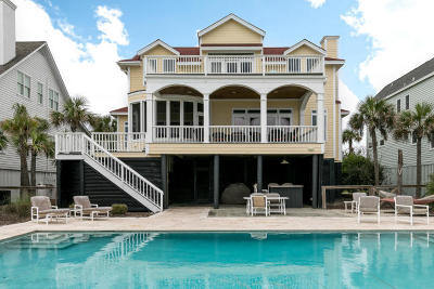Isle Of Palms Single Family Home For Sale: 508 Ocean Boulevard