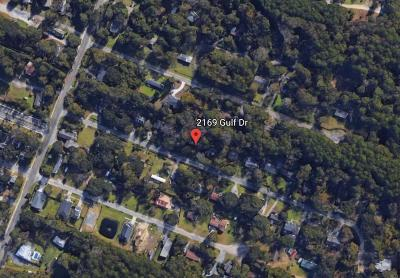 Residential Lots & Land For Sale: 2169 Gulf Drive