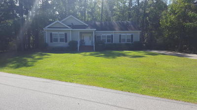 Walterboro Single Family Home For Sale: 108 Lakeside Drive