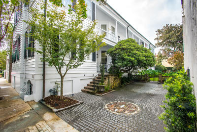 Charleston Single Family Home For Sale: 21 Lamboll Street