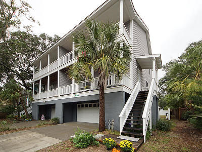 Folly Beach SC Attached For Sale: $657,000
