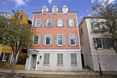 Charleston Single Family Home Contingent: 162 Smith Street