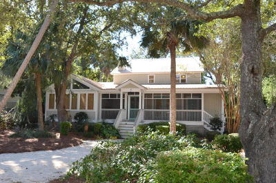 Isle Of Palms Single Family Home For Sale: 3 Shad Row