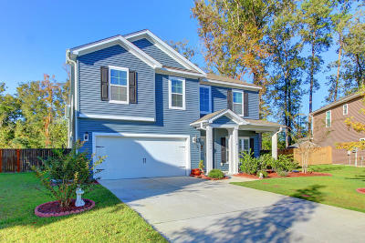 North Charleston Single Family Home For Sale: 5438 Overland Trail