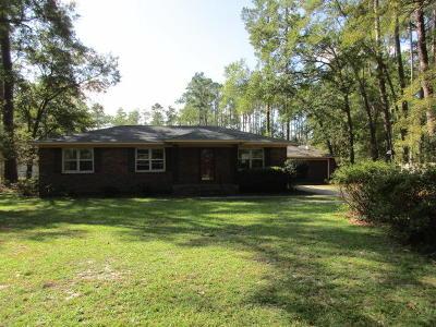 Walterboro Single Family Home For Sale: 511 Dandridge Road
