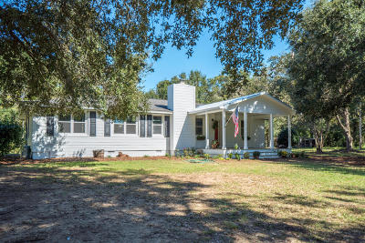 Johns Island Single Family Home For Sale: 2760 Trucklands Road