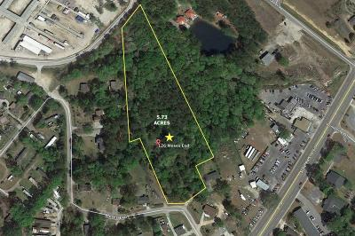 Ladson Residential Lots & Land Contingent: 126 Moses Ext.