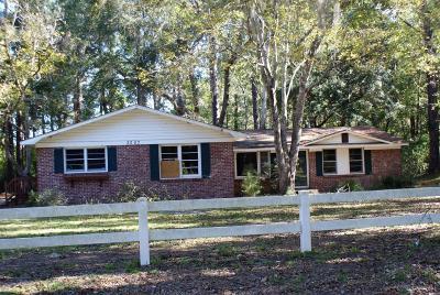 Walterboro Single Family Home For Sale: 3307 Possum Corner Road