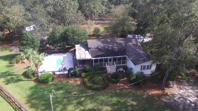 Johns Island Single Family Home For Sale: 5909 Chisolm Road