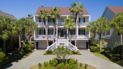 Isle Of Palms Single Family Home Contingent: 22 Intracoastal Court
