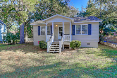 Charleston Single Family Home Contingent: 24 Oak Forest Drive