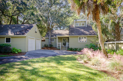 Kiawah Island Single Family Home For Sale: 160 Marsh Hawk Lane