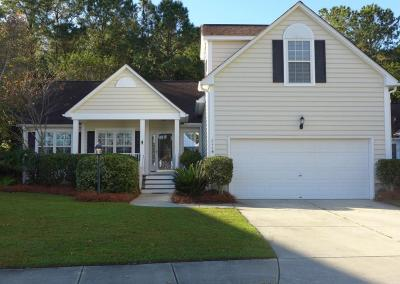 Mount Pleasant Single Family Home For Sale: 1116 Willoughby Ln