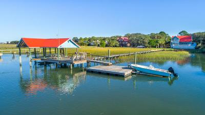 Folly Beach Single Family Home For Sale: 1210 Tabby Drive