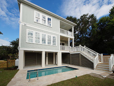 Isle Of Palms Single Family Home For Sale: 804 Palm Boulevard