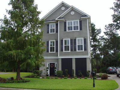 Mount Pleasant, Isle Of Palms, Daniel Island, Awendaw Single Family Home For Sale: 2313 North Creek Drive