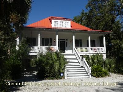 Edisto Island SC Single Family Home For Sale: $537,900