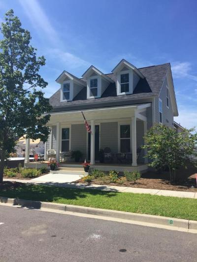 Single Family Home For Sale: 436 Watergrass Way