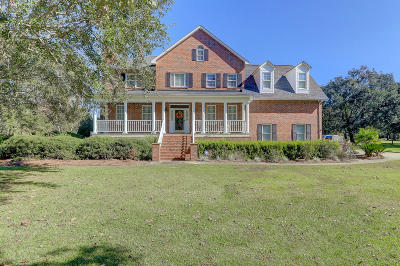 Johns Island Single Family Home For Sale: 3884 Oakley Drive