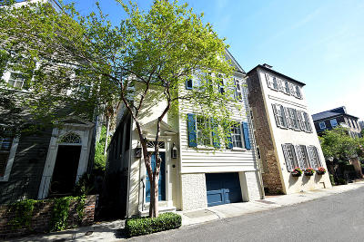 Charleston Single Family Home For Sale: 80 Tradd Street