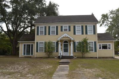 Walterboro Single Family Home For Sale: 1208 Wichman Street