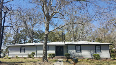 Single Family Home For Sale: 1204 Wappetaw Place