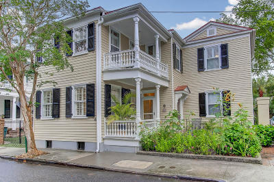 Charleston Single Family Home For Sale: 44 Savage Street