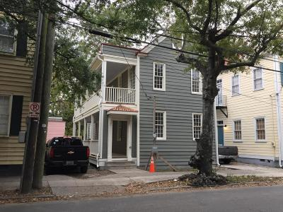 Charleston Single Family Home For Sale: 5 Coming Street