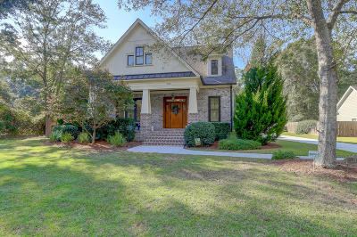 Charleston Single Family Home Contingent: 747 Swanson Avenue