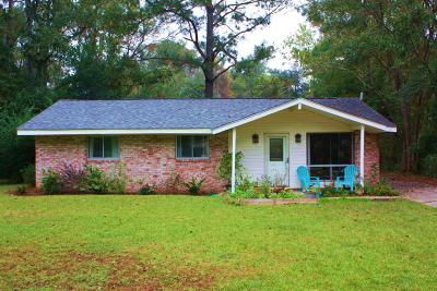 Johns Island SC Single Family Home For Sale: $180,000