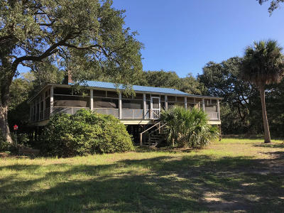 Edisto Island SC Single Family Home For Sale: $550,000