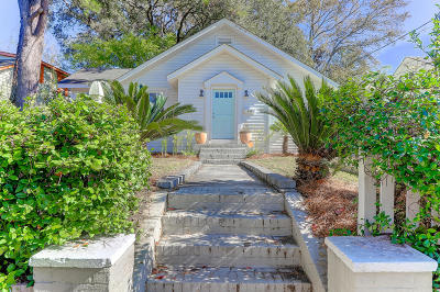 Charleston Single Family Home Contingent: 874 Ashley Avenue