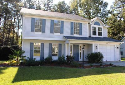 Summerville Single Family Home Contingent: 327 Damascus Drive