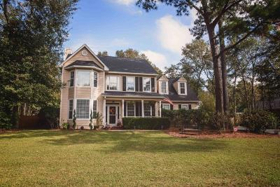 Summerville Single Family Home Contingent: 107 Old Course Road