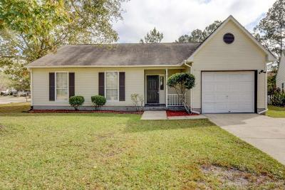 North Charleston Single Family Home For Sale: 4169 Mill Creek Drive