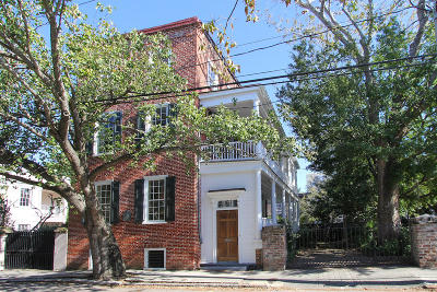 Charleston Single Family Home For Sale: 34 Anson Street