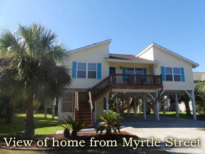 Edisto Island Single Family Home For Sale: 3514 Myrtle Street