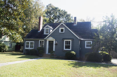 Charleston Single Family Home For Sale: 7 Riverdale Drive