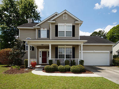 Charleston Single Family Home Contingent: 413 Cabrill Drive